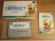 SFC FINAL FANTASY V 5 FF Super Famicom Japan boxed